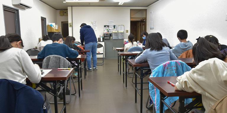 東豊中校の授業風景